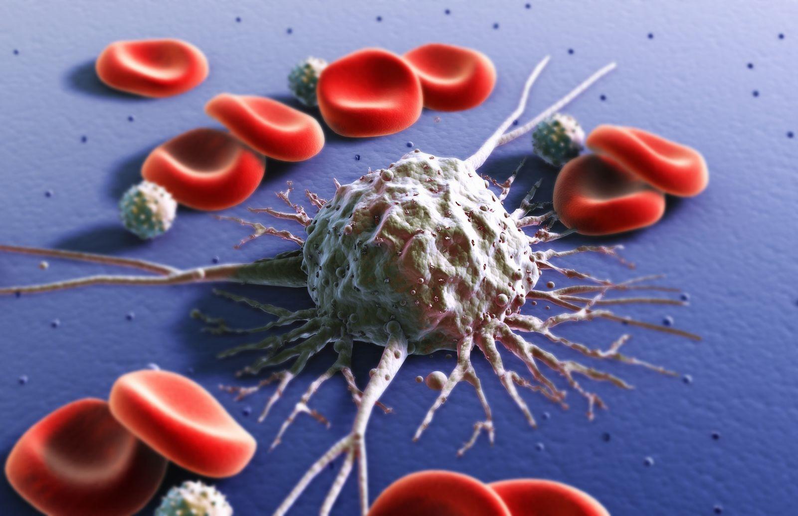 NICHT MEHR VERWENDEN! - Krebszelle / Krebs / Blutzelle