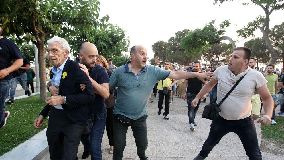 Griechenland: Wie der Mob zuschlug