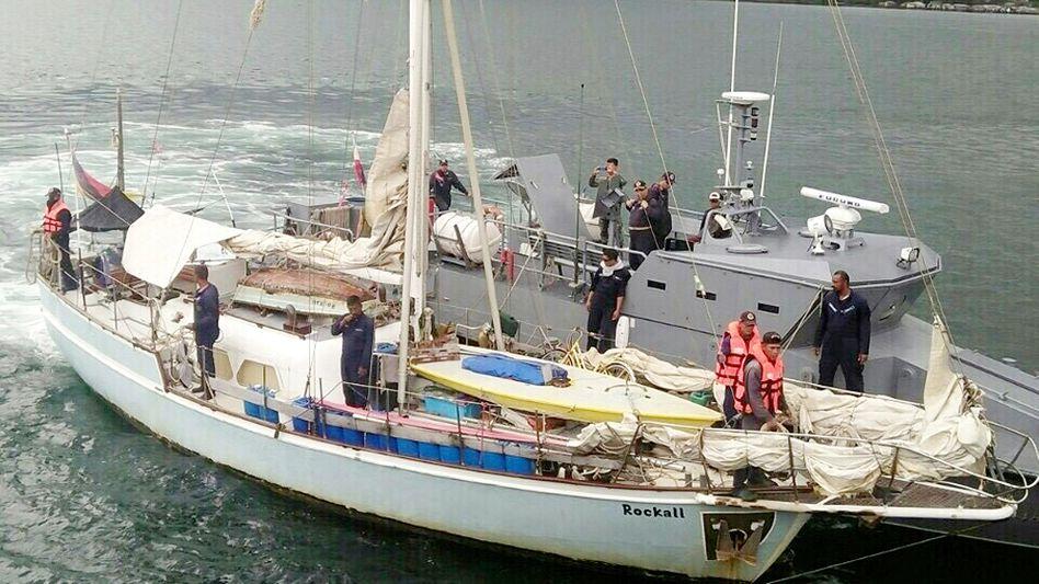 Segelboot des entführten Deutschen