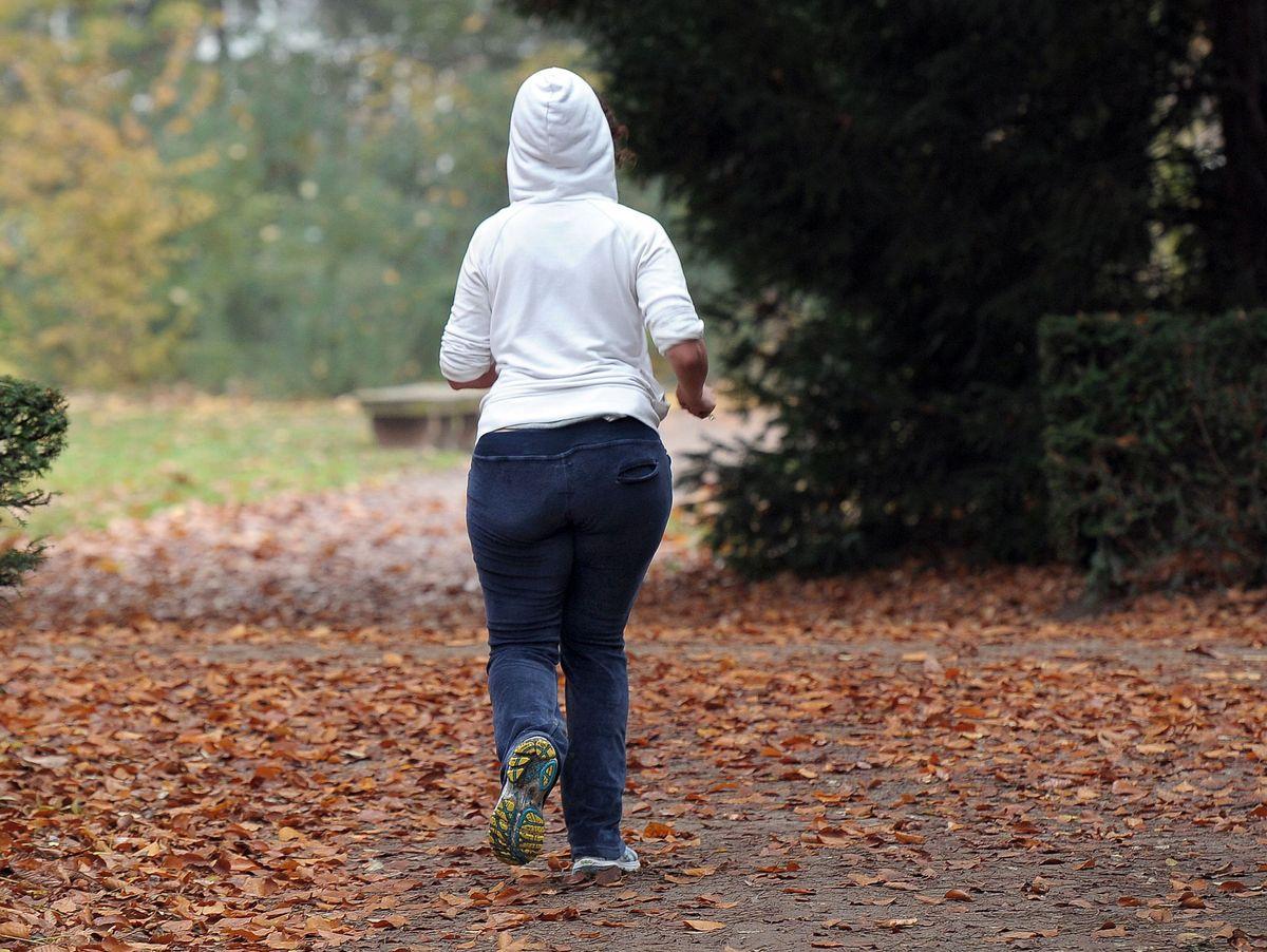 Joggen ohne die Oberschenkel abzunehmen