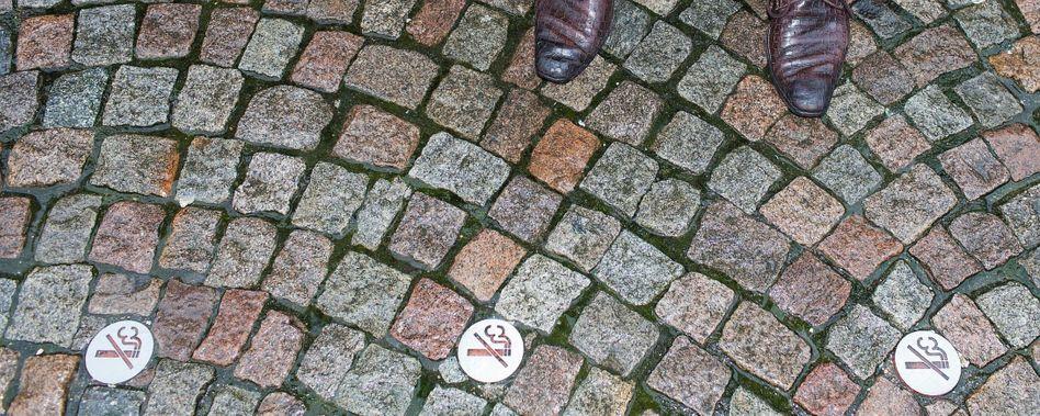 Rauchverbotszeichen in Groningen