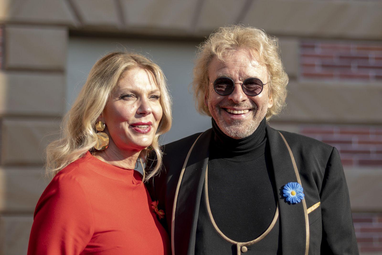 Thomas Gottschalk mit neuer Freundin