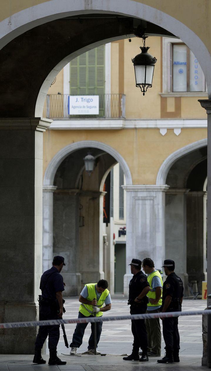 Polizei in Palma: Bombenexplosionen in zwei Restaurants und einem Einkaufszentrum