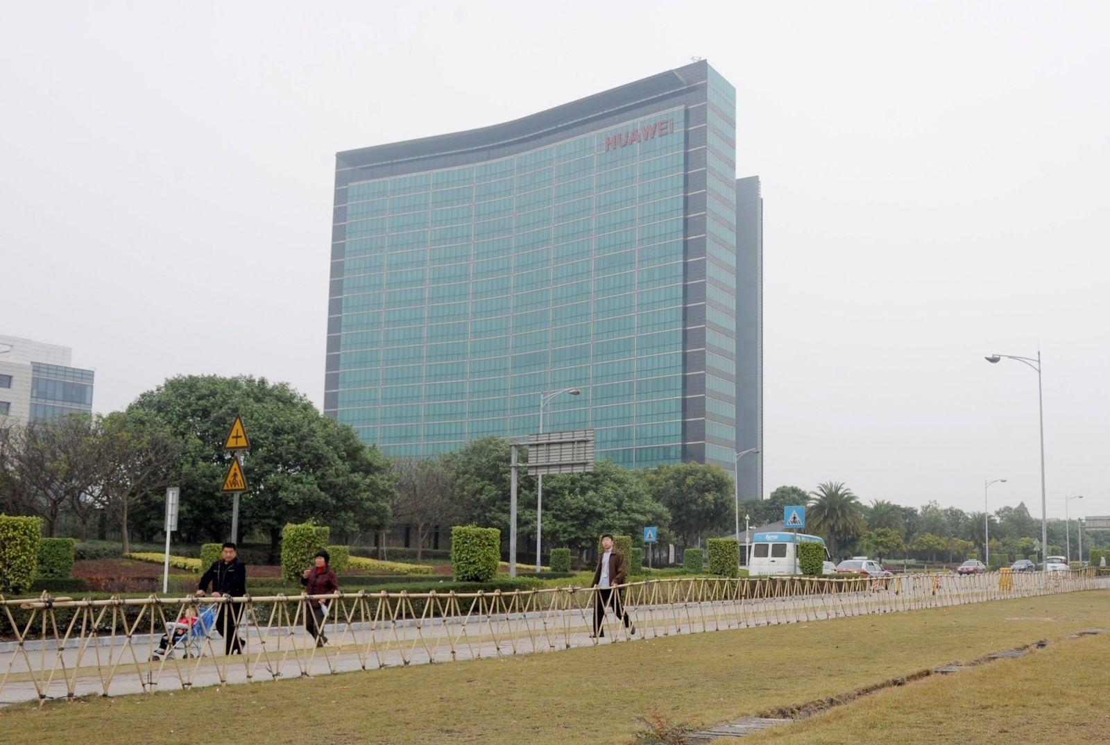Huawei Zentrale / Hauptquartier in Shenzen