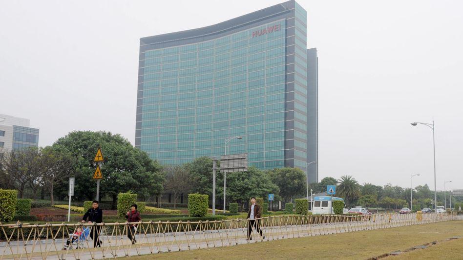 Huawei-Zentrale in Shenzhen, China: Spionagevorwürfe aus den USA