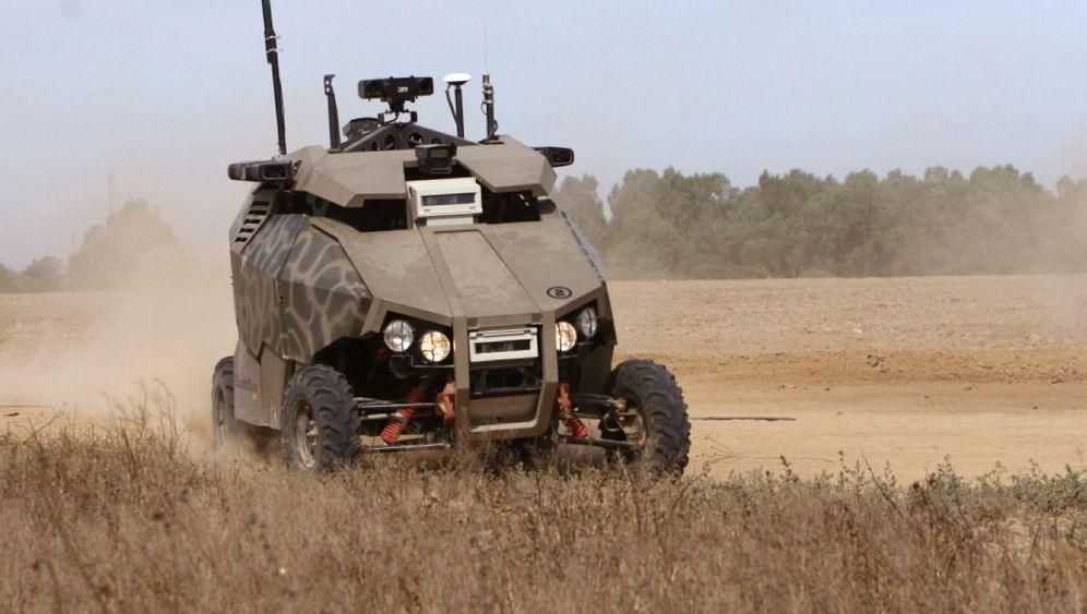 """Militärroboter: """"Guardium"""" bewacht Israels Grenze"""