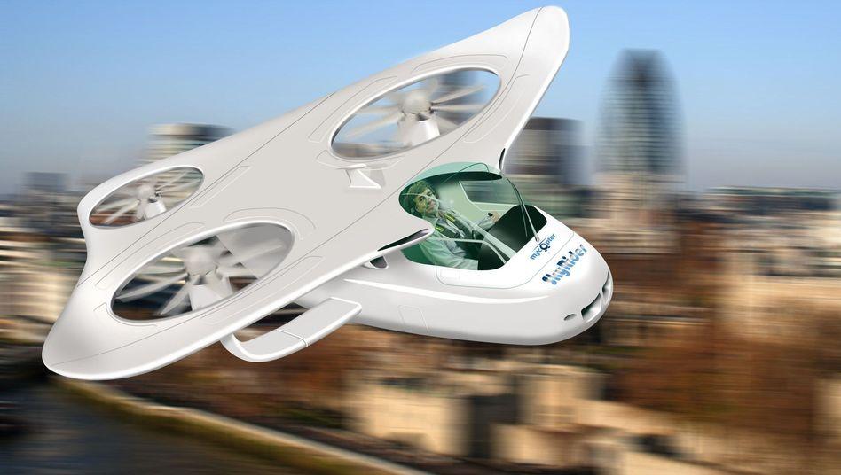 Mit dem privaten Fluggerät zur Arbeit pendeln? Noch ist das eine Vision