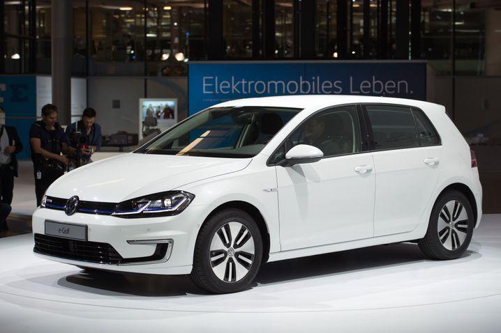 Der E-Golf von Volkswagen