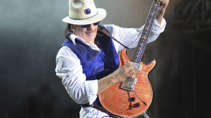 """Carlos Santana: """"Meine Gitarre fühlte sich an wie eine elektrische Schlange"""""""