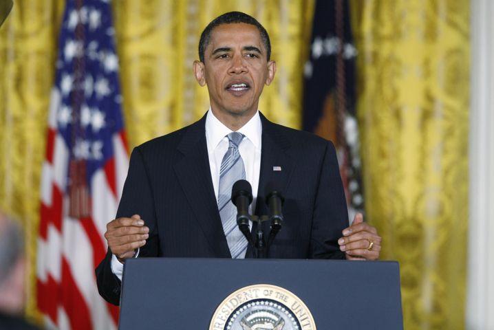 """Obamas Rede zur Finanzaufsicht-Reform: """"Behutsame Balance"""" versucht"""