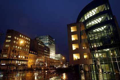 Bankenviertel in Luxemburg: Attraktiv für deutsche Sparer ab 1,25 Millionen Euro Anlagesumme