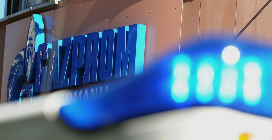 Gazprom-Zentrale in Berlin: Razzien bei Gasfirmen