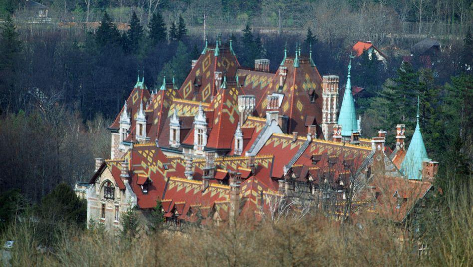 Tagungsort Schloss Rothschild: DOC finanzierte Teilnehmern die Anreise