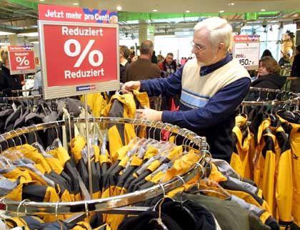 Rabattaktion bei Karstadt: Das Weihnachtsgeschäft wird von Preisnachlässen geprägt sein