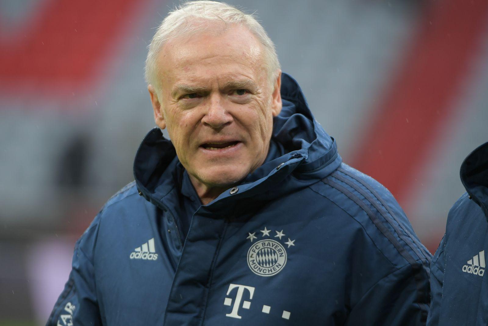 Co-Trainer Hermann Gerland (FC Bayern Muenchen), FC Bayern Muenchen - VFL Wolfsburg, Bundesliga, 21.12.2019 DFL REGULAT