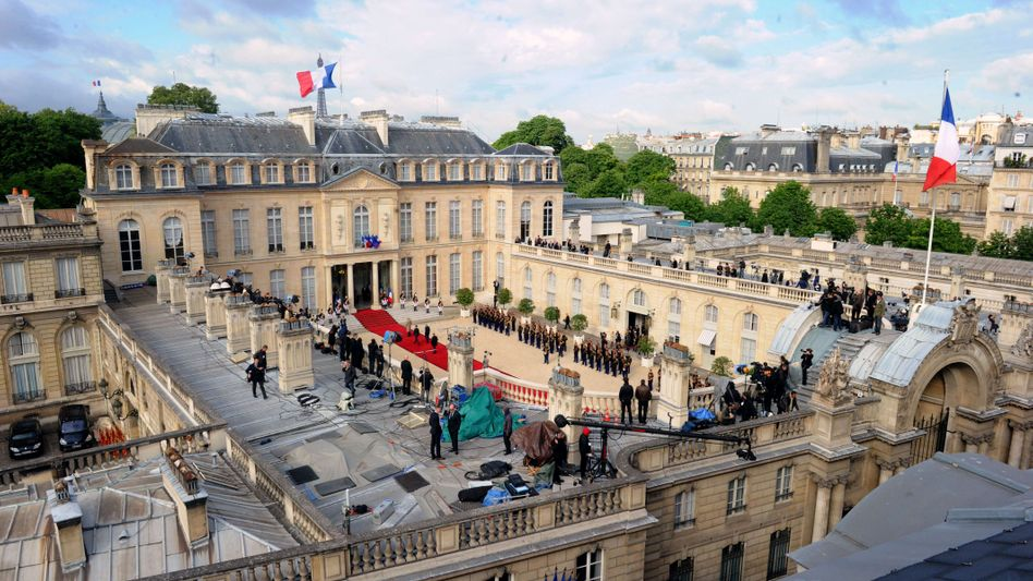 Elysée-Palast in Paris (Archivbild): Verdacht auf NSA-Angriff