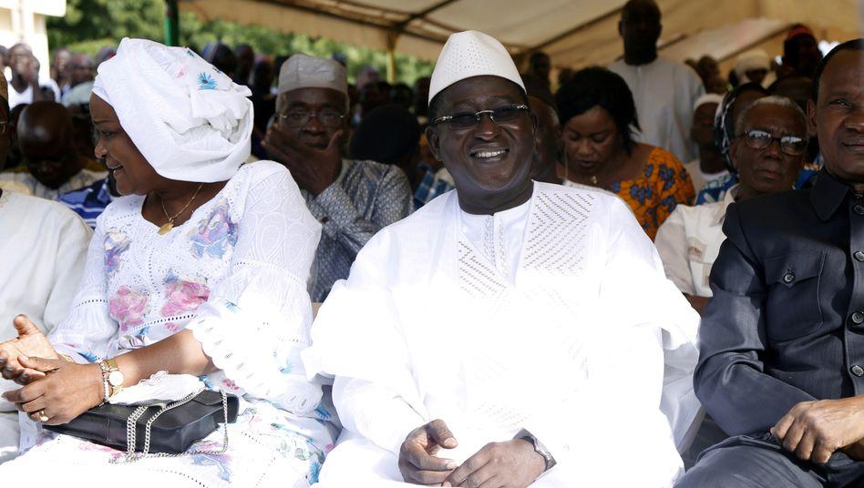 Malis Oppositionsführer Soumaïla Cissé (Archivbild)