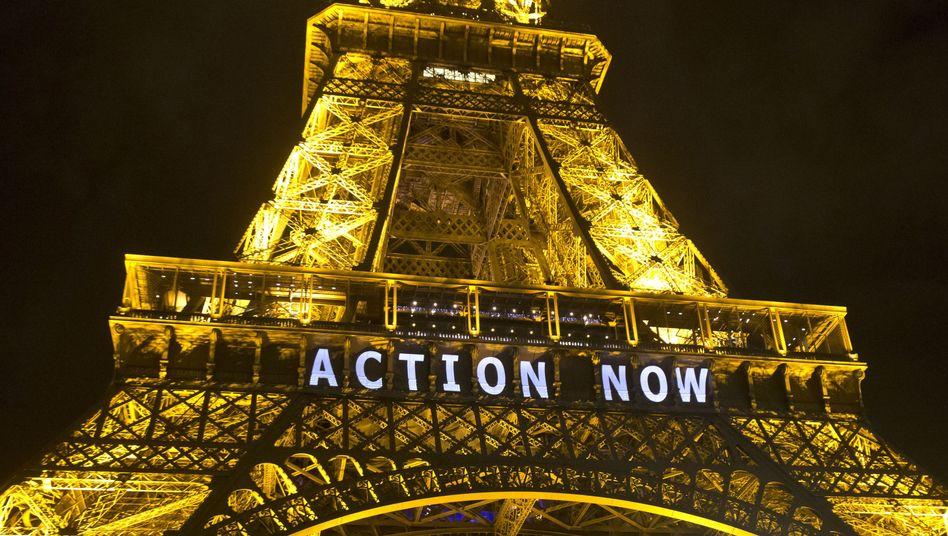 """""""Action now"""": 196 Staaten haben sich in Paris auf einen Klimavertrag geeinigt"""
