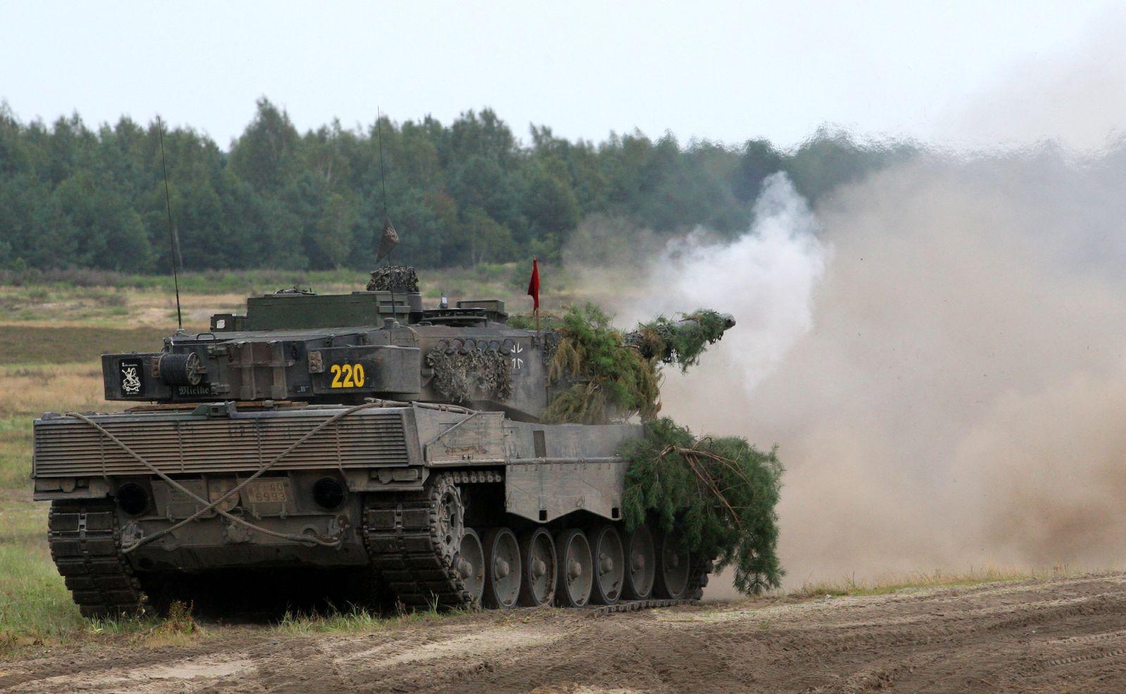 NICHT VERWENDEN Leopard Panzer Bundeswehr