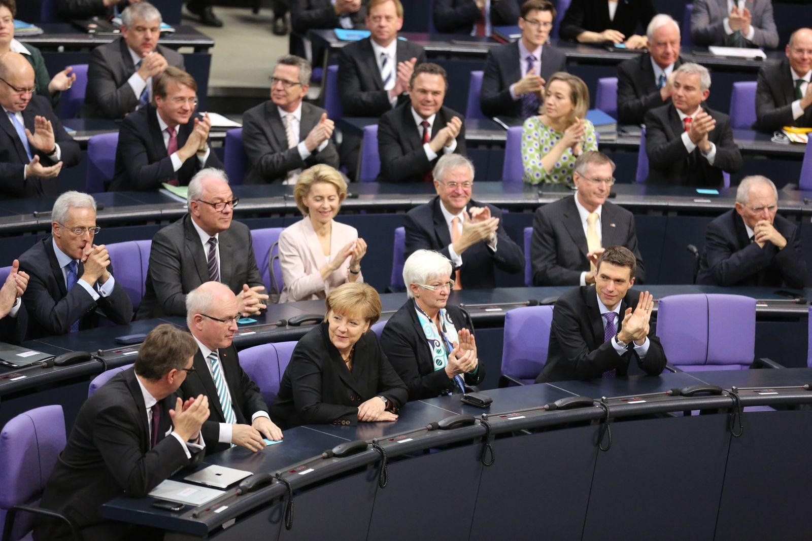 Merkel / Kanzlerwahl
