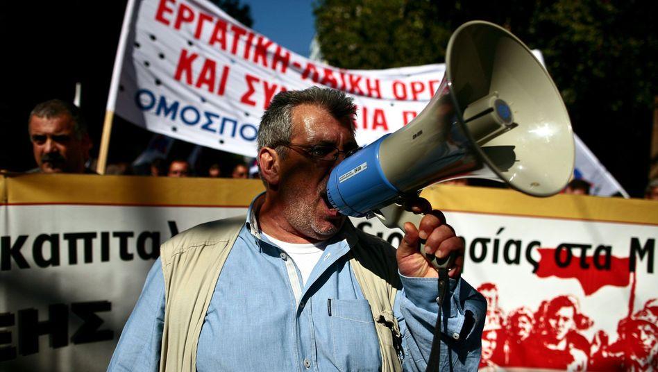 Radikalkur in Griechenland: Spar-Opferrufen zum Mega-Streik