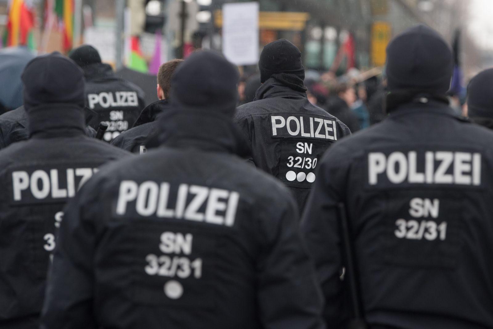 Demonstration gegen das neue Polizeigesetz