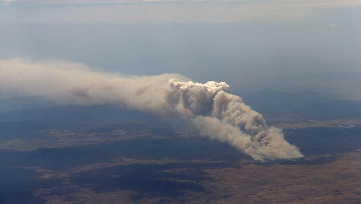 Buschbrände in Australien: In Ruß und Flammen