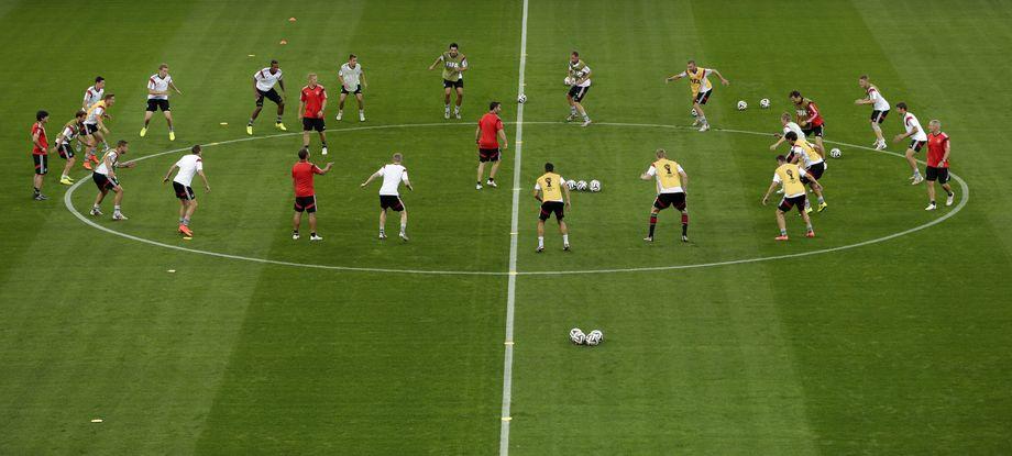 Aufstellung Deutschland Halbfinale