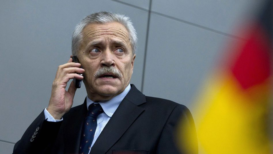 Heinz Fromm, 63, who resigned as Germany's domestic intelligence chief on Monday.