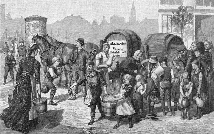 Die Epidemie in Hamburg 1892 war der letzte große Cholera-Ausbruch in Deutschland