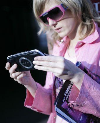 Sony PSP: Lifestyle-Accessoire für Coole?