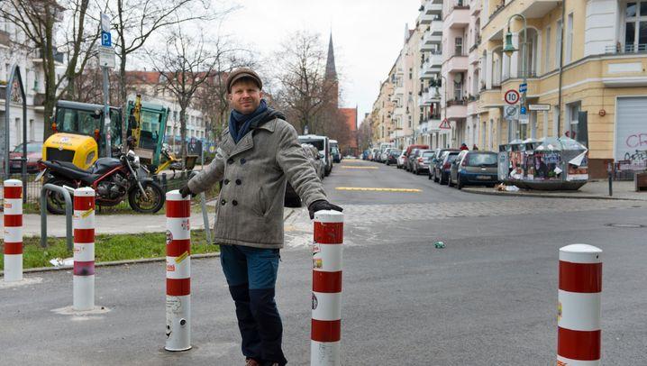 Streit um Poller: Der Samariterkiez in Berlin