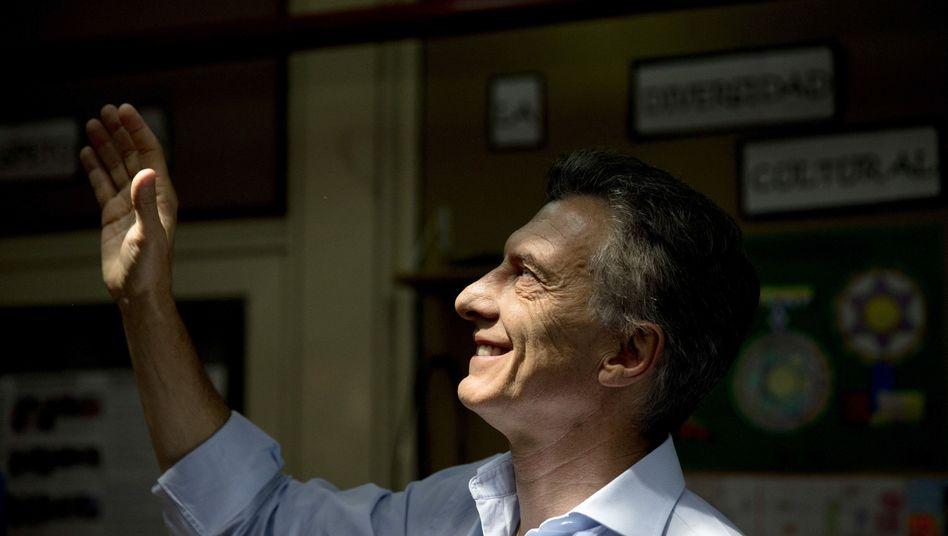 Argentinien: Oppositionskandidat Macrigewinnt Präsidentschaftswahl