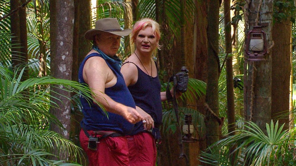 Dschungelcamp Tag 3: Nachzügler Klaus hält sich raus