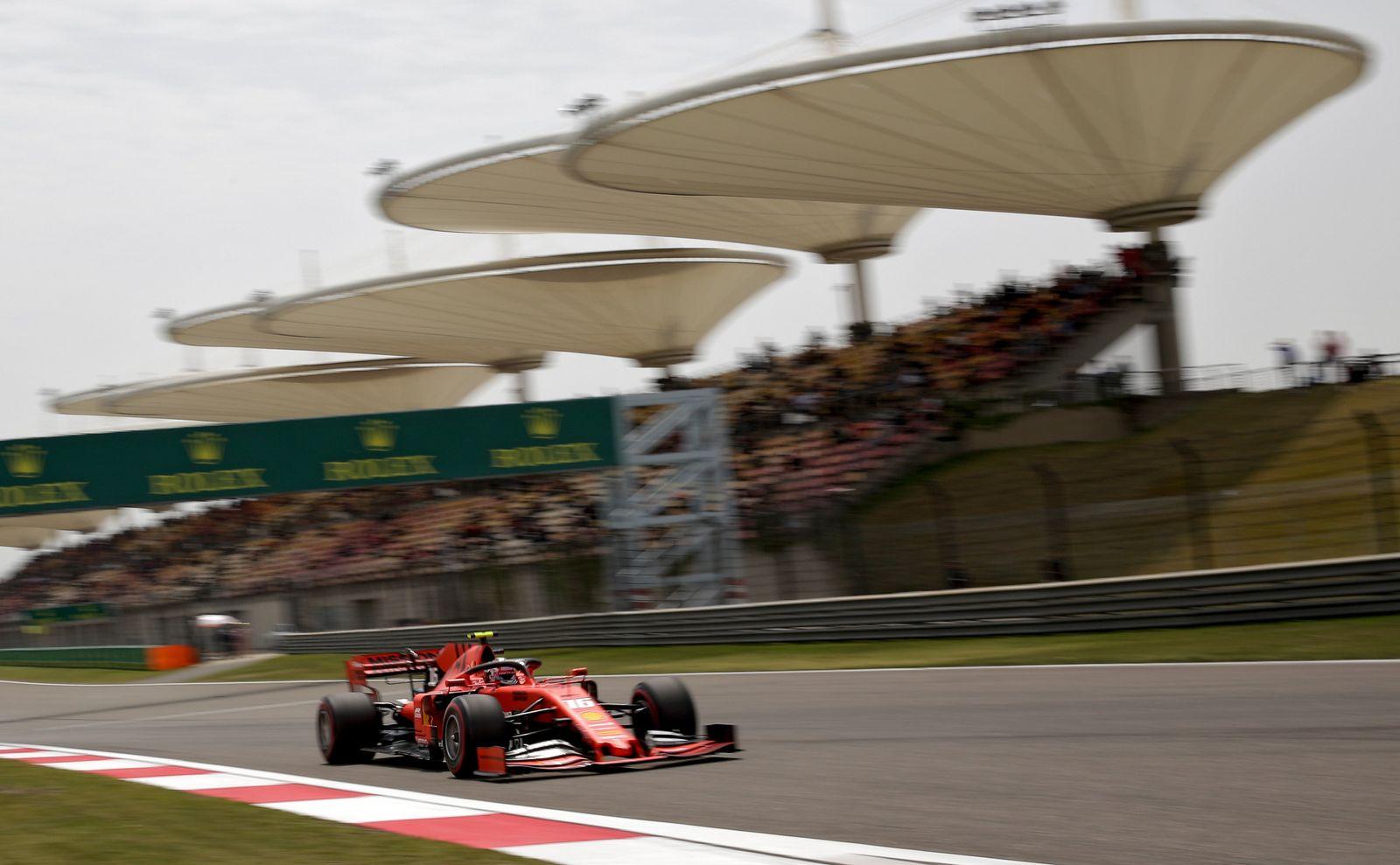 Formel-1-Rennen in China könnte ans Jahresende verlegt werden