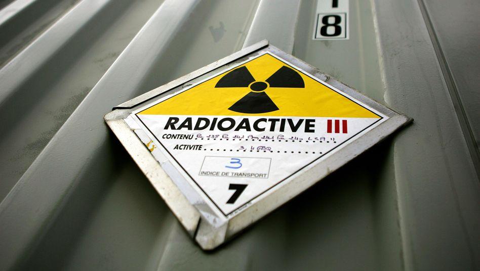 Atommaterial-Behälter: Auch aus Deutschland wurde Atommaterial nach Russland geliefert