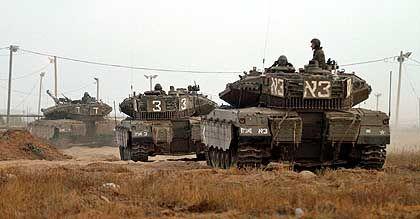 Israelische Panzer haben Rafah vom übrigen Gaza-Streifen abgeschnitten