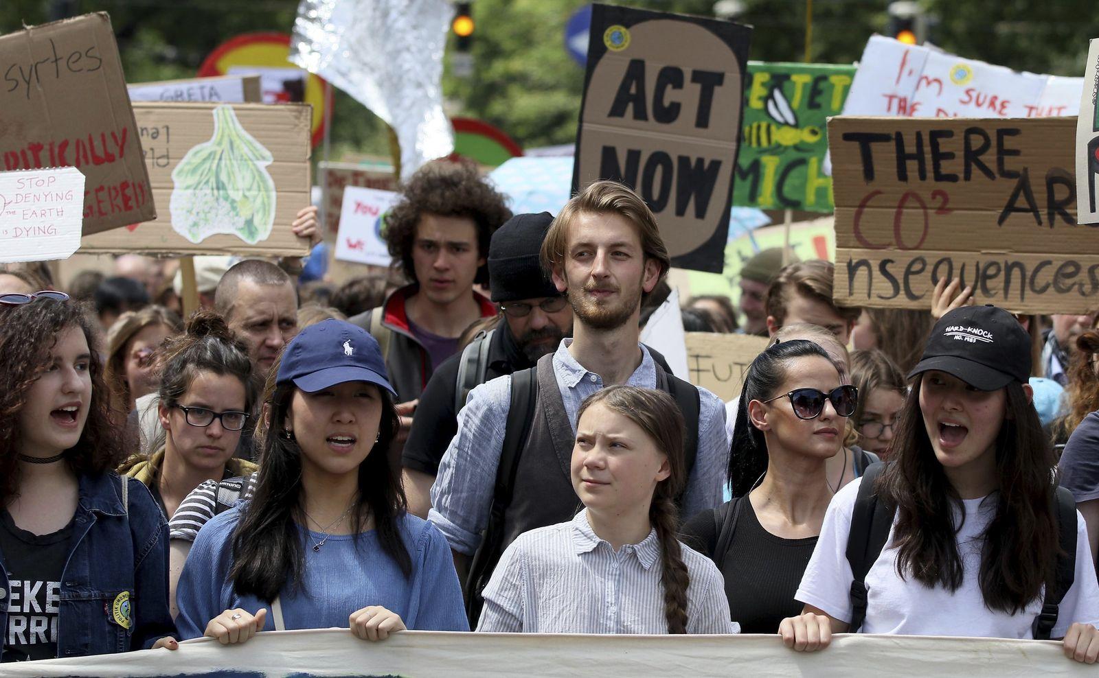 Austria Climate Protest
