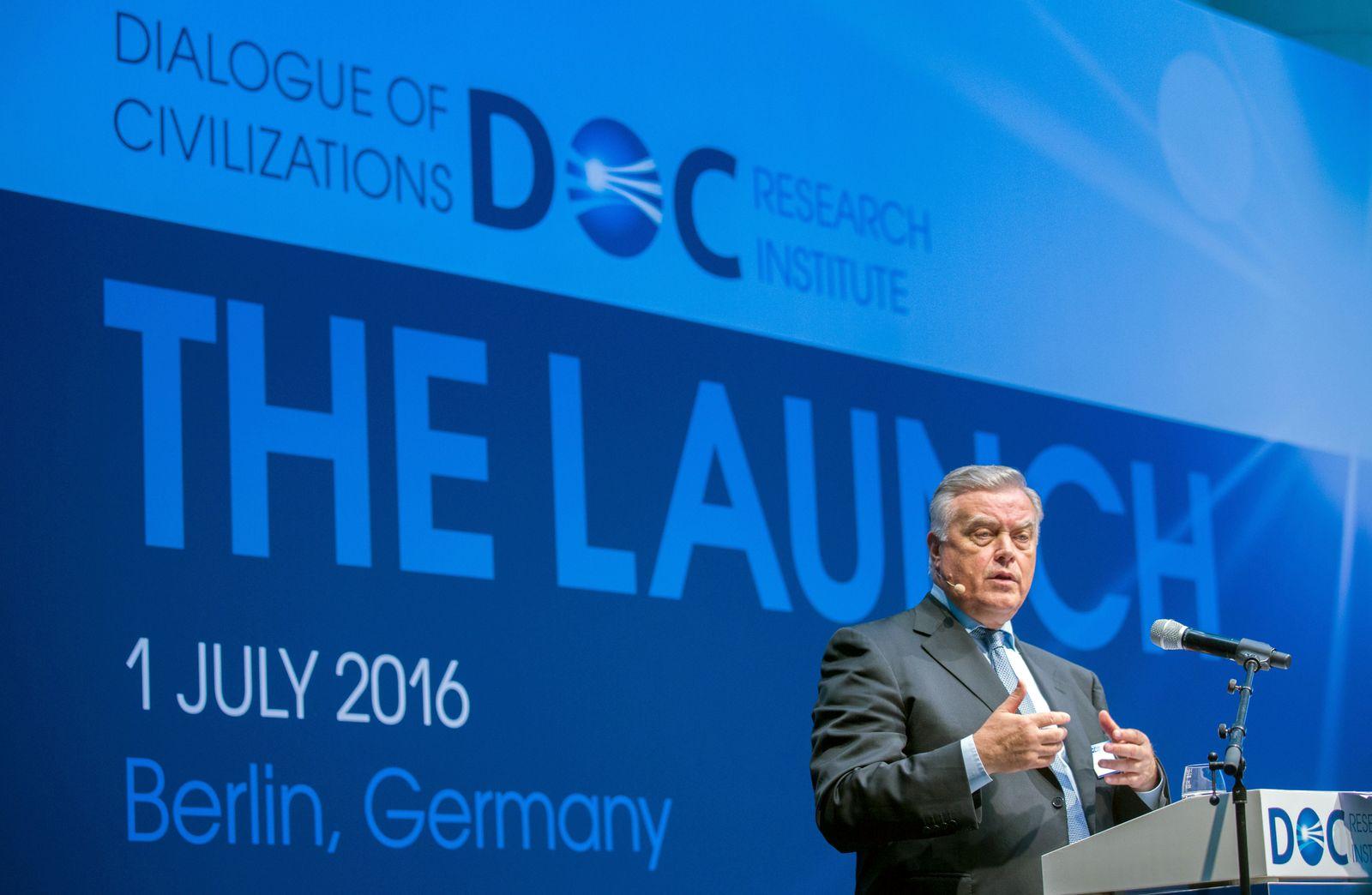 "Gründungsveranstaltung des Politikinstituts ""Dialogue of Civiliz"