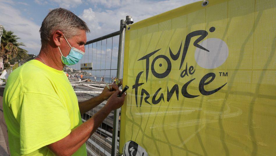 Frankreich bereitet sich auf das wichtigste Sportevent des Jahres vor