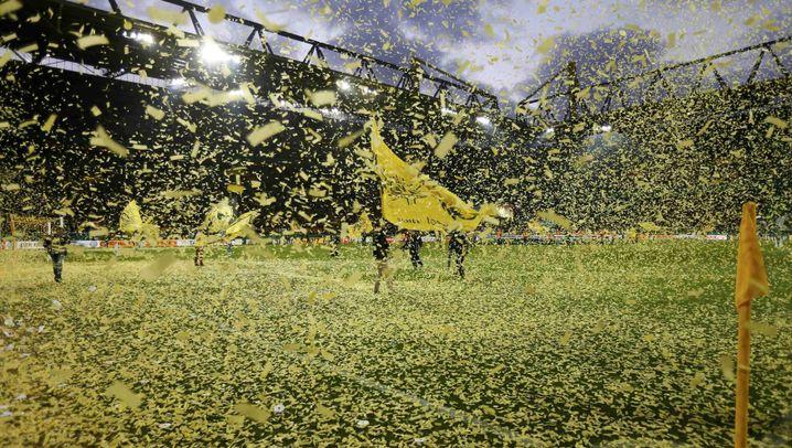 Dortmund schlägt Wolfsburg: Zwei Tore fürs Finale