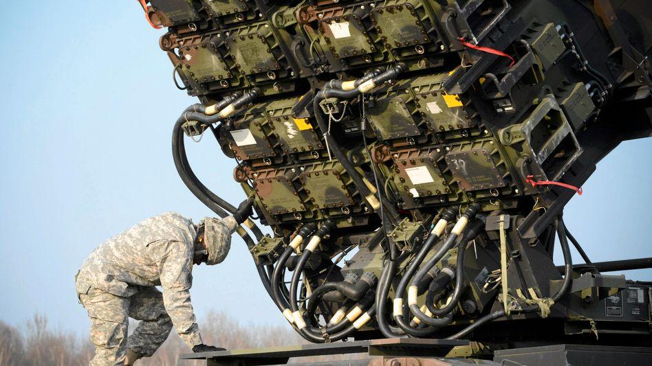"""""""Patriot""""-System der US-Armee (Archivbild): Gesuch aus der Türkei"""