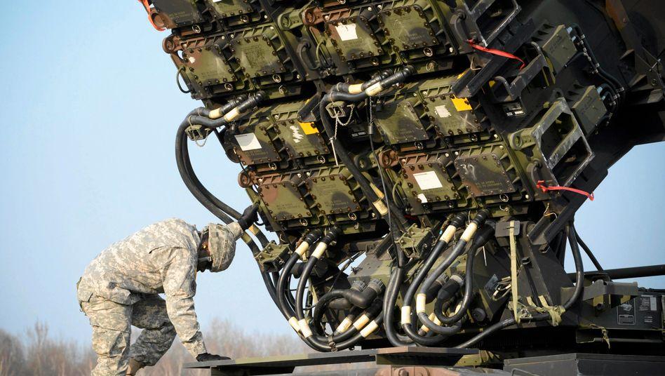 """Syrien-Konflikt: Türkei will US-Unterstützung durch """"Patriot""""-Raketen"""