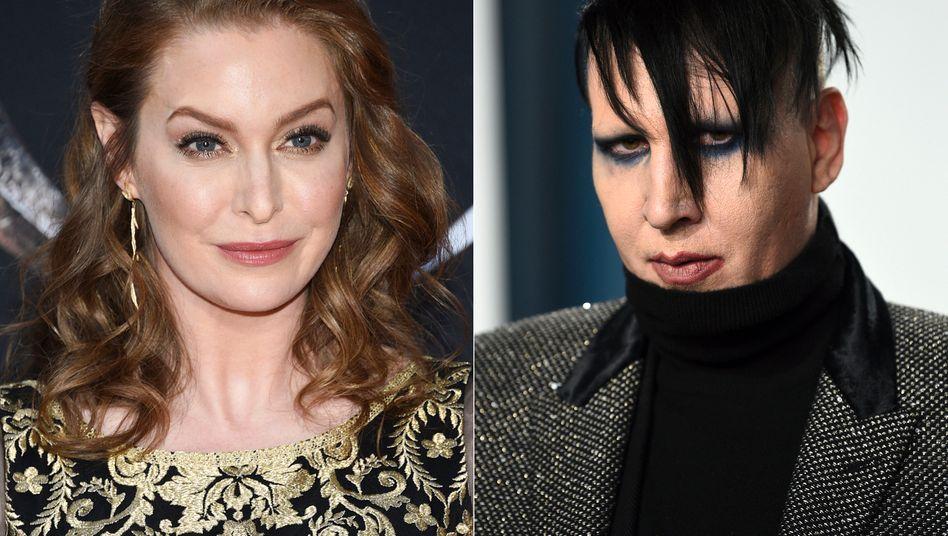 Schauspielerin Esmé Bianco (2019), Rockstar Marilyn Manson (2020)