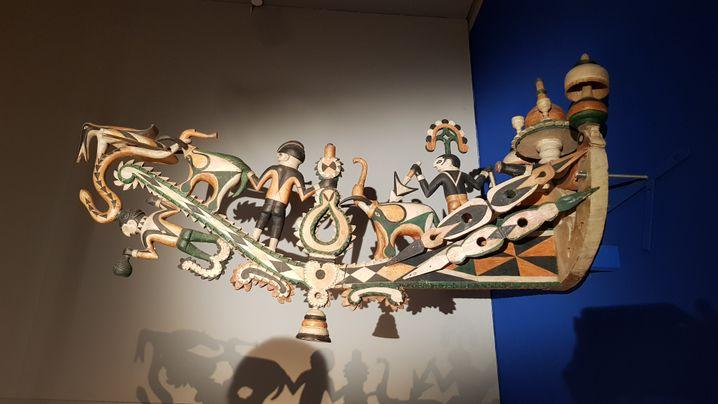 Schiffschnabel im Museum der Fünf Kontinente in München