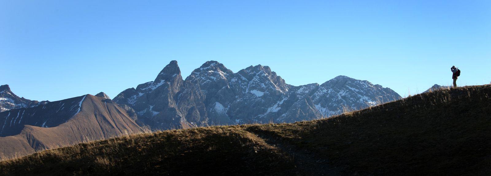 Wanderwetter in den Alpen / Fellhorn