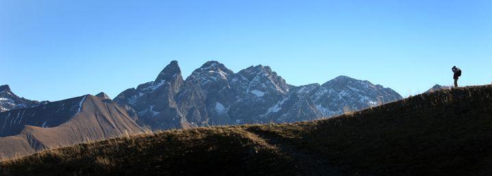 Alpenglück: Eine Überquerung dauert einige Wochen