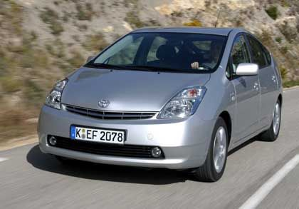 Toyota's Prius hybrid car model has been widely praised and purchased.