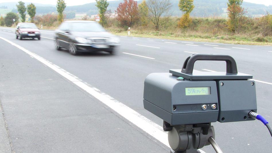 Geschwindigkeitsmessung mit Leivtec XV3: Teils unbrauchbare Ergebnisse