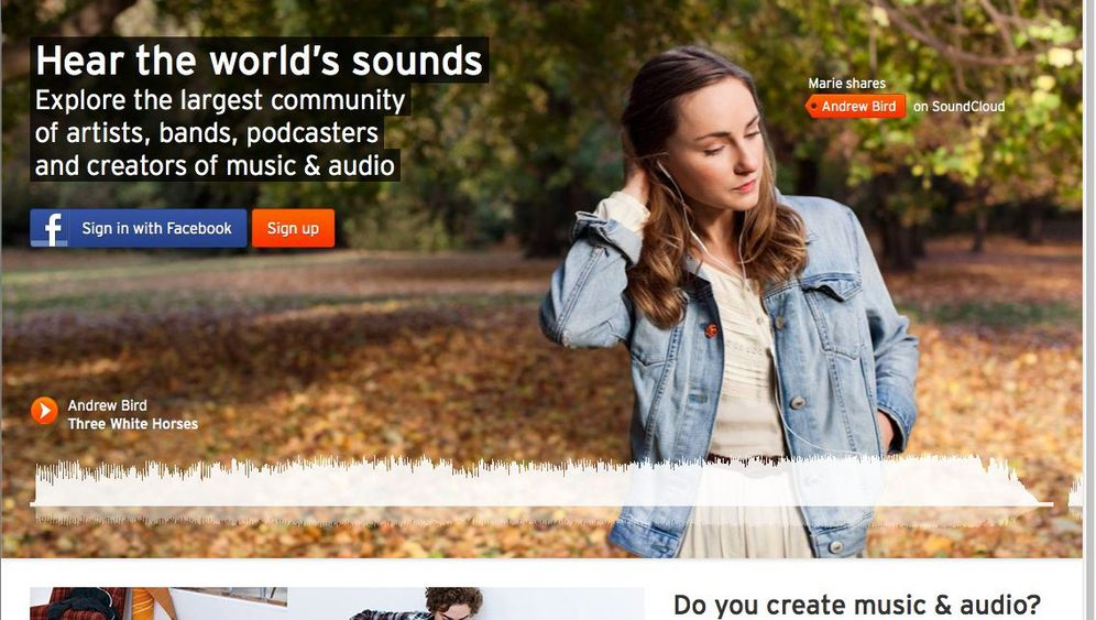 Neues MySpace: Soundcloud wird sozialer